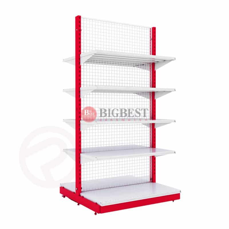 Shelves supermaket