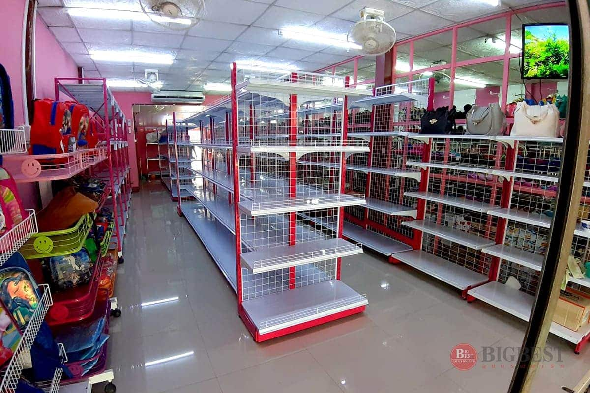 Store made shelving