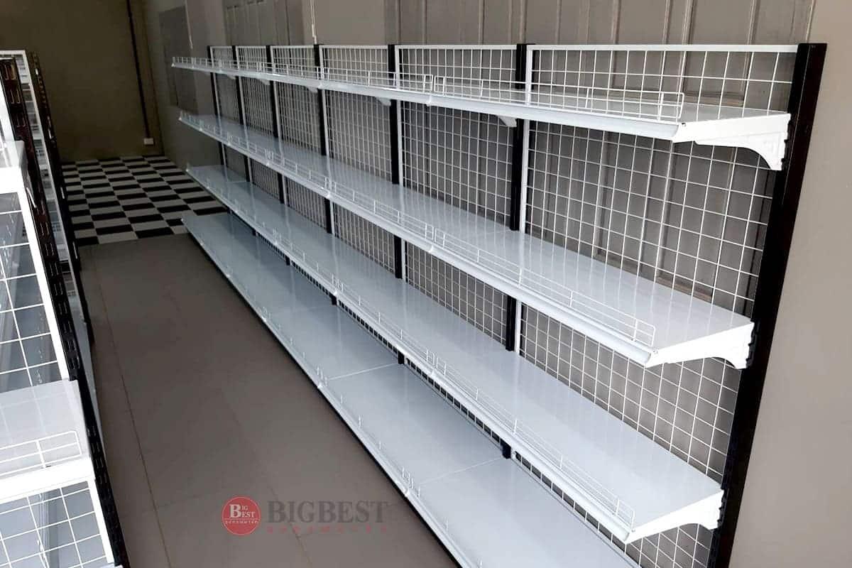 Store shelf basket 3D