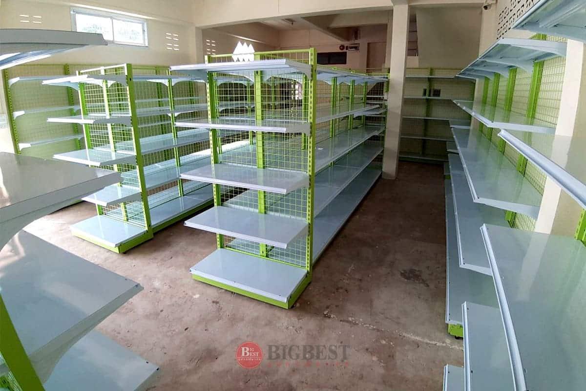 Store tailer shelves