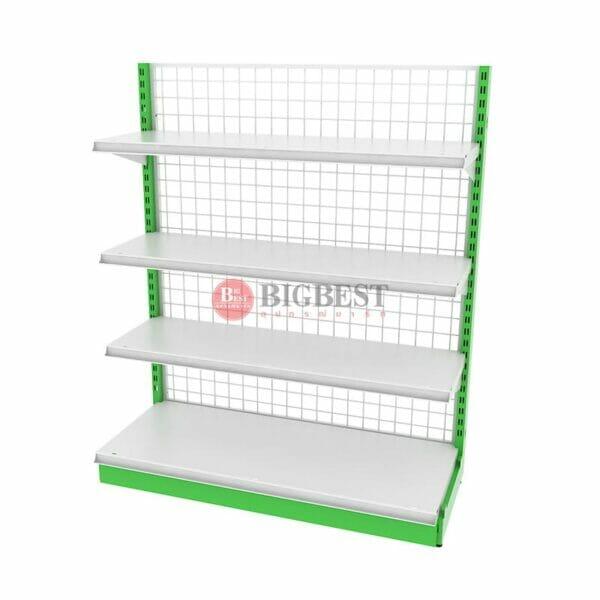 shelf Green basket for shelves