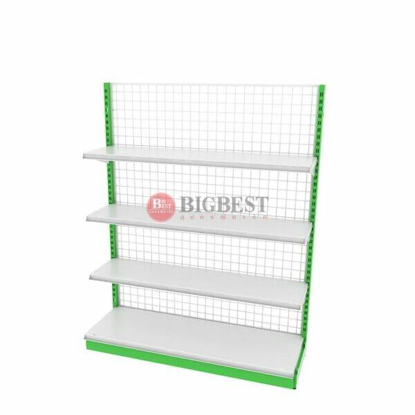 shelf Green for supermarket