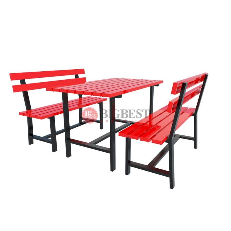 ชุดโต๊ะเหล็ก