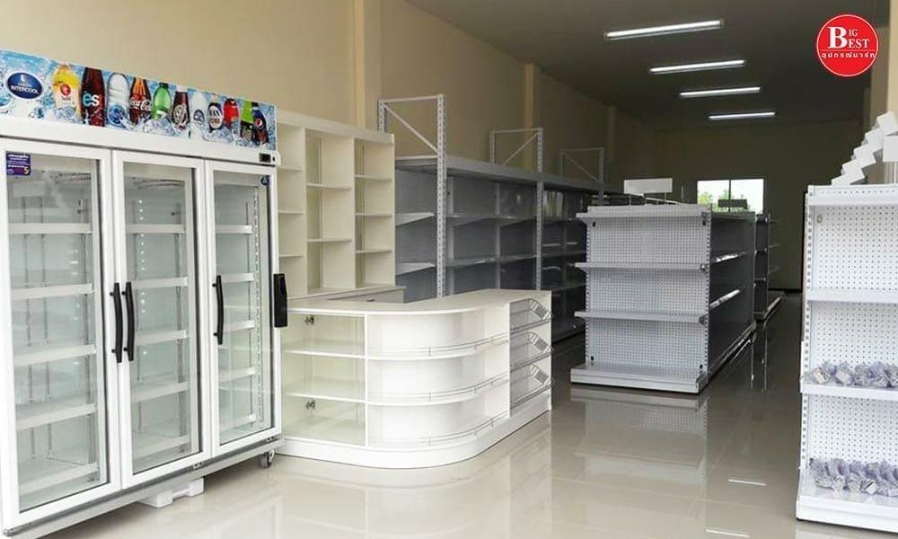 Small grocery store white shelf by bigbest